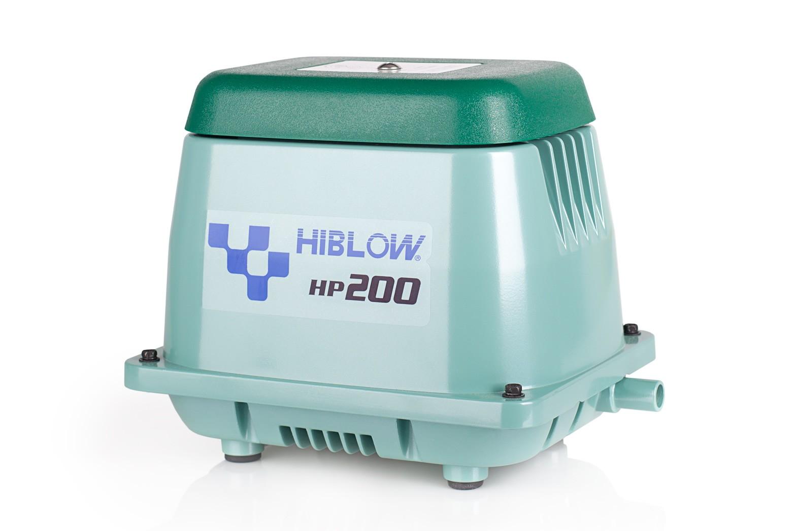 компрессор Hiblow HP-200 для септиков и прудов