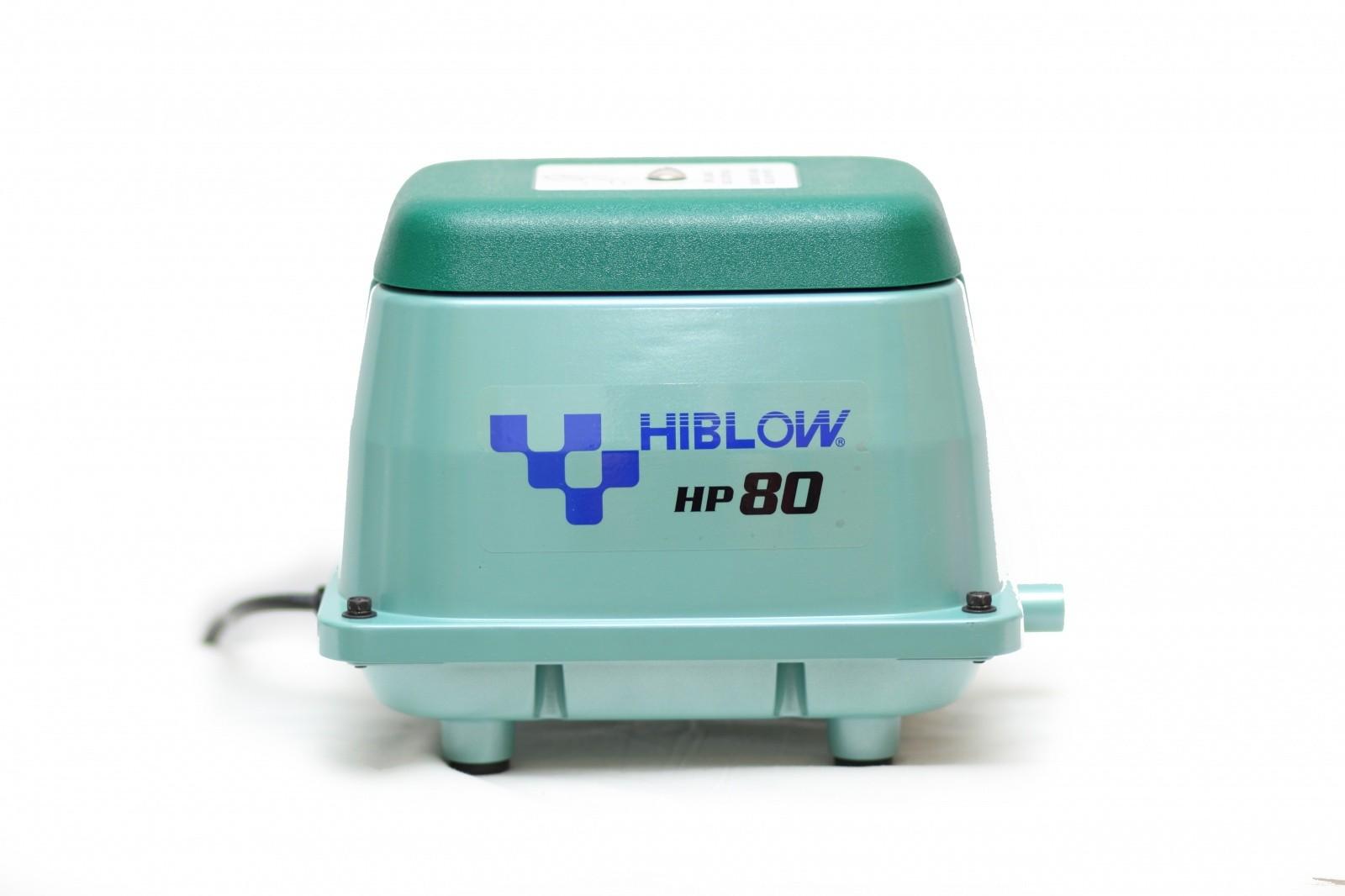 компрессор Hiblow HP-80u для септиков и прудов