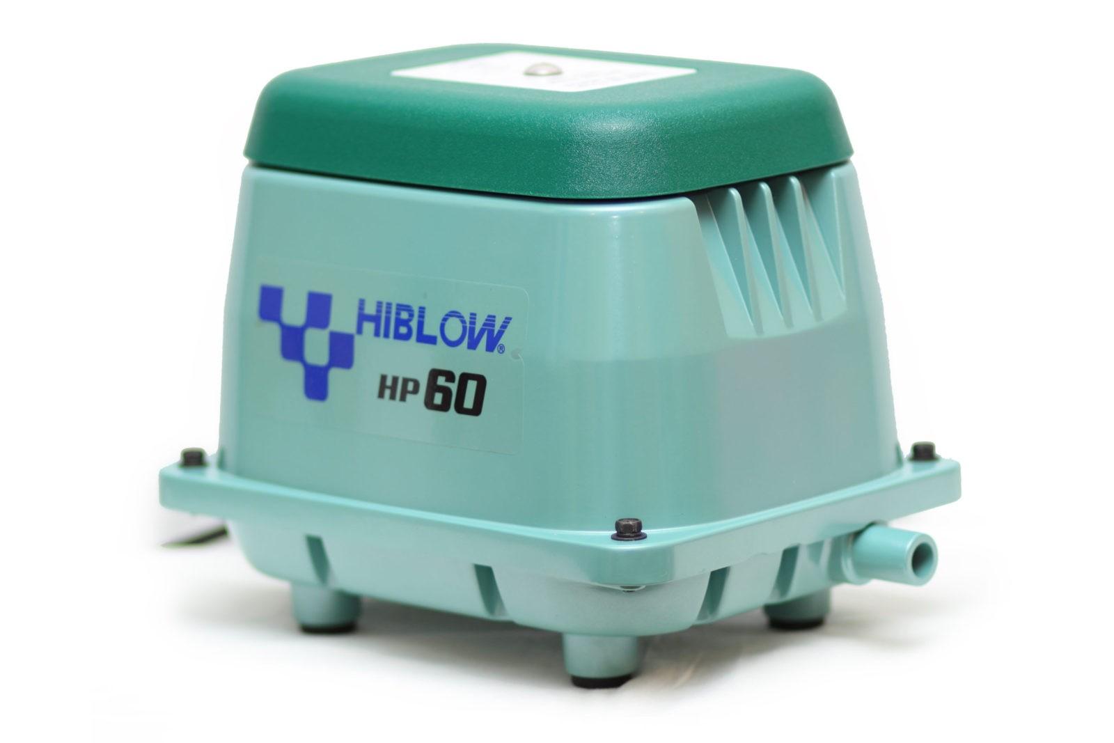 компрессоры Hiblow HP-60 для септиков и прудов
