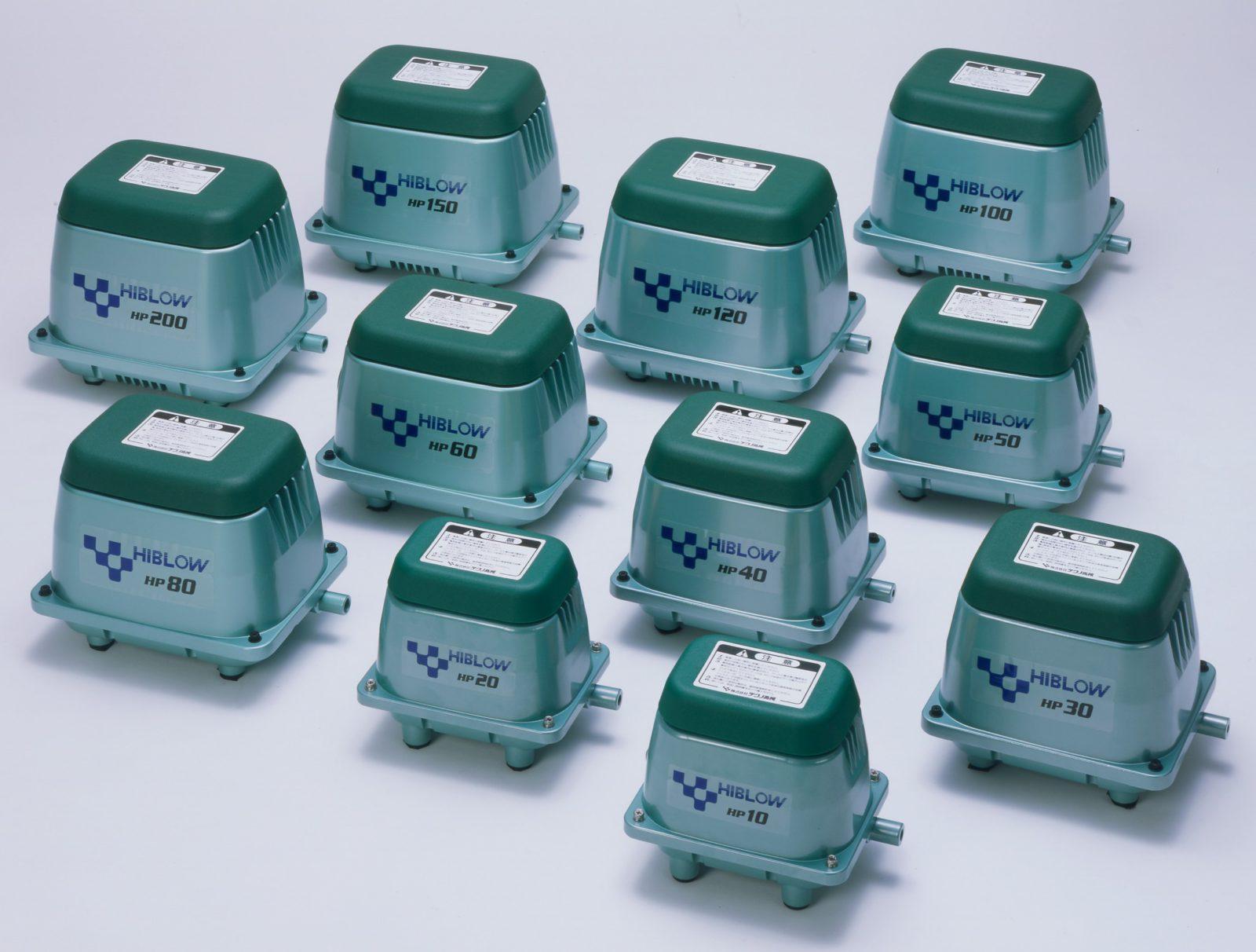 купить компрессор Hiblow для септиков и прудов