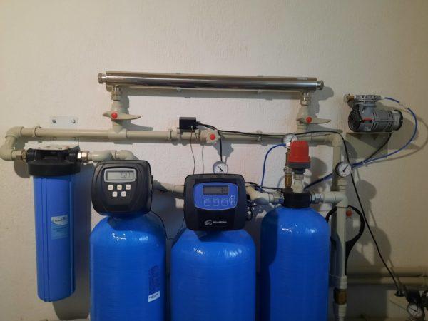 Комплексная система очистки воды для коттеджа и дома